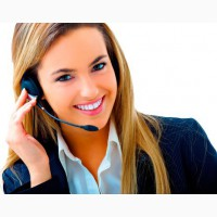 Оператор на телефоне Прием входящих звонков