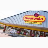 Разнорабочий в супермаркет Biedronka (Польша)