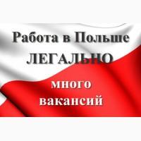 Трудоустройство в Польше. Вакансии. Требуются монтажники, сварщики, разнорабочие