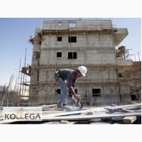 Работа на строительных объектах Израиля