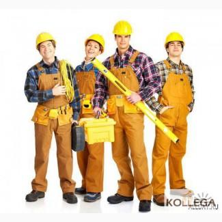 Разнорабочий строитель упаковщица работа в Польше