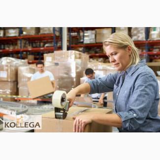 Работник на упаковку продукции на складах в Польшу. Работа за границей