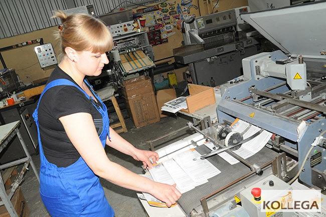 Как печатают открытки в типографии 50