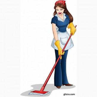 В салон требуется уборщица