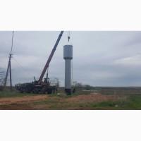 Производство и установка водонапорных башен ВБР, резервуаров (РГС, РВС)